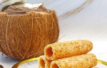 椰汁蛋卷 — 椰香酥鬆